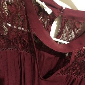 Glory lace detailed top